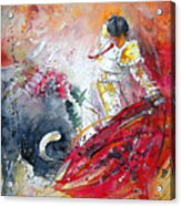 Moment Of Truth 2010 Acrylic Print by Miki De Goodaboom
