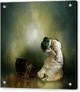 Momento Acrylic Print by Mary Hood