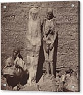 Momies Egyptiennes (egyptian Mummies) Acrylic Print