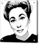 Mommie Dearest - Clean Up This Mess - Pop Art Acrylic Print