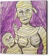 Mommyfied  Acrylic Print