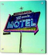 Mom's Motel Acrylic Print