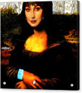 Mona Cher Acrylic Print
