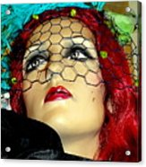Mona In Mourning Acrylic Print