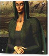 Mona Lisa Aien Acrylic Print