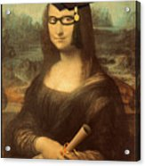 Mona Lisa  Graduation Day Acrylic Print