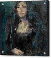Mona Lisa N.5 Acrylic Print