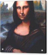 Mona Lisa Replica Acrylic Print