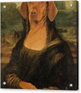 Mona Visla Acrylic Print