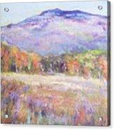 Monadnock In Spring Color Acrylic Print