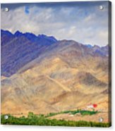 Monastery In The Mountains Acrylic Print