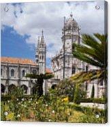 Monastery Of The Hieronymites Lisbon 6 Acrylic Print