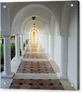 Monastic Tranquility Acrylic Print