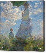 Monet , Woman With A Parasol  Acrylic Print