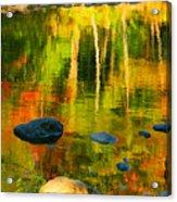 Monet Autumnal Acrylic Print