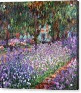 Monet: Giverny, 1900 Acrylic Print