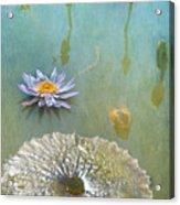 Monet Inspired Acrylic Print