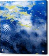 Monet Like Water Acrylic Print