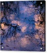 Monet On The Water Acrylic Print