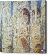 Monet: Rouen Cathedral Acrylic Print
