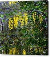 Monet's Garden Abstract II Acrylic Print