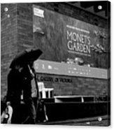Monets' Garden At Ngv Acrylic Print