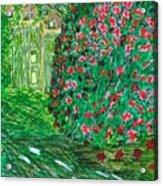 Monet's Parc Monceau Acrylic Print