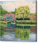 Monet's Summer Garden No.2 Acrylic Print