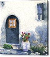 Monevasia Doorway Acrylic Print