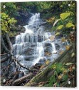 Money Brook Falls Mount Greylock Acrylic Print