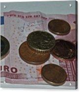 Money Acrylic Print