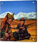Mongolia Land Of The Eternal Blue Sky Acrylic Print