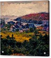Monhegan Island Maine Acrylic Print