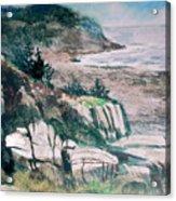 Monhegan Trail Acrylic Print