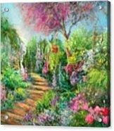 Monica's Garden Acrylic Print