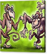 Monkey Dance Acrylic Print