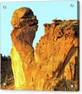 Monkey Face Pillar At Smith Rock Acrylic Print