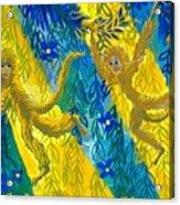 Monkeys And Sunbeams Acrylic Print