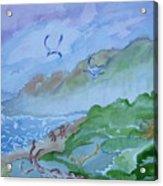 Monkeys Head Point Oregon Acrylic Print