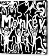 Monkeys Maze For M Acrylic Print