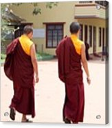 Monks Acrylic Print