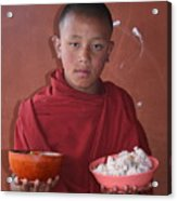Monks Lunch Acrylic Print