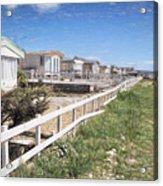 Monmouth Beach - Impressions Acrylic Print
