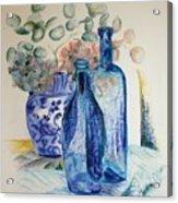 Monnaie Bleue Acrylic Print
