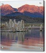 Mono Lake Sunrise 1 Acrylic Print