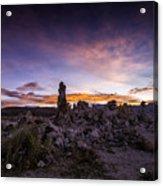 Mono Lake Sunset 5 Acrylic Print