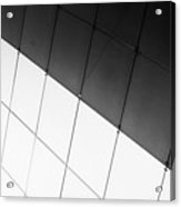 Monochrome Building Abstract 3 Acrylic Print