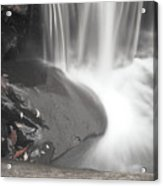 Monochrome Falls Acrylic Print