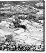 Monochrome Valley Acrylic Print