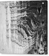 Monochrome Water Acrylic Print